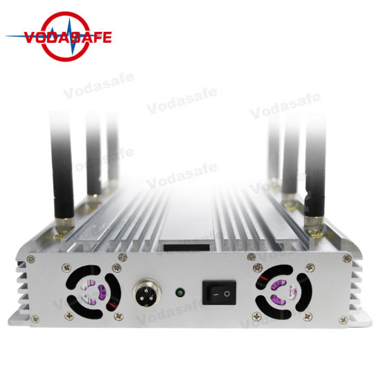 42W High Power Mobile Phone WiFi UHF Signal Jammer, 6 Antennas Multifunctional WiFi GPS 3G Cell Phone Signal Jammer, Wireless Camera1.2g2.4G5.8g