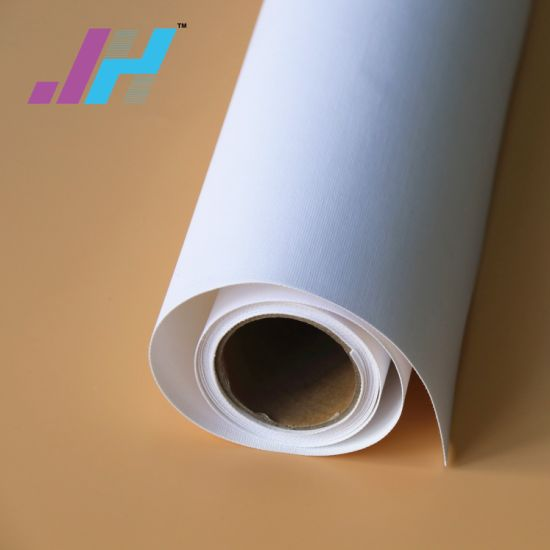 graphic about Printable Fabric Roll named 380GSM Material Roll Inkjet Printable Polyester Canvas