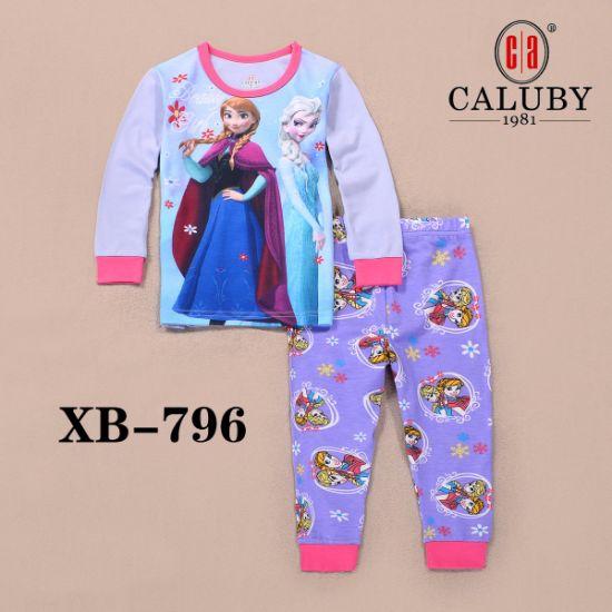 a6b093172d China Girl′s Pajamas Comfy 100% Cotton Sleepwear - China Christmas ...