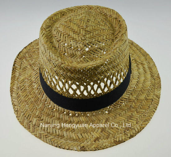 Soft Summer Ribbon Straw Hat (HY18030214) pictures & photos