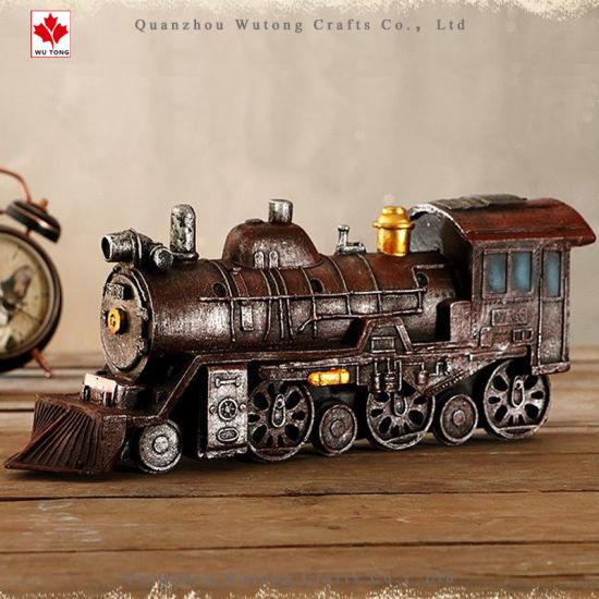 Resin Old Locomotive Model Collection pictures & photos
