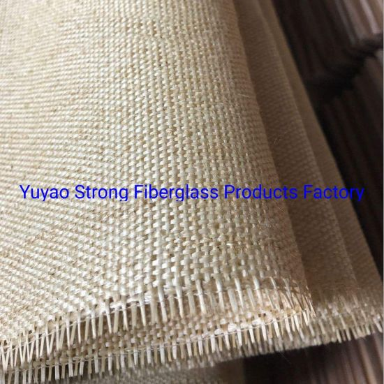 China Vermiculite Coated Fiber Glass Fabrics - China Heat Treated