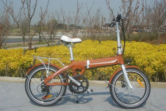 Ce Approved Aluminium Frame Battery Hidden Folding Ebike pictures & photos