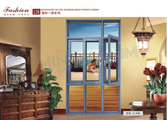Special Design Casement/Sliding/Aluminium Window with Tempered Glass