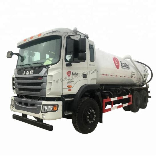 JAC 6X2 6X4 15-16m3 Toilet Cleaning Truck in Dubai