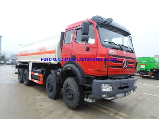 Beiben 8X4 Fuel Tank Tanker Truck 25cbm with Good Price for Sale