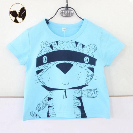 Comfortable Breathe Freely Baby Children Blue Tshirt