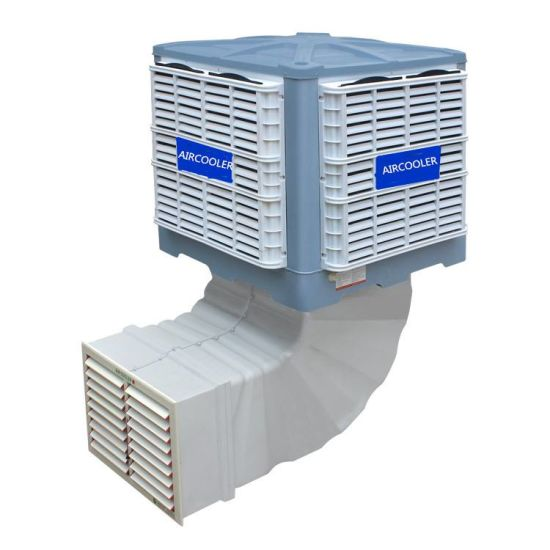 Hot Sale 18000CMH Downwind Axial Evaporative Air Cooler pictures & photos