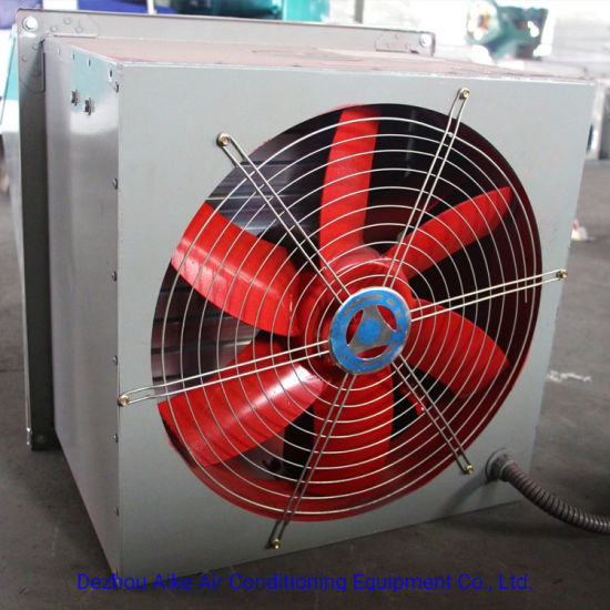 Easy Installation Square Wall-Mounted Axial Flow Ventilation Fan