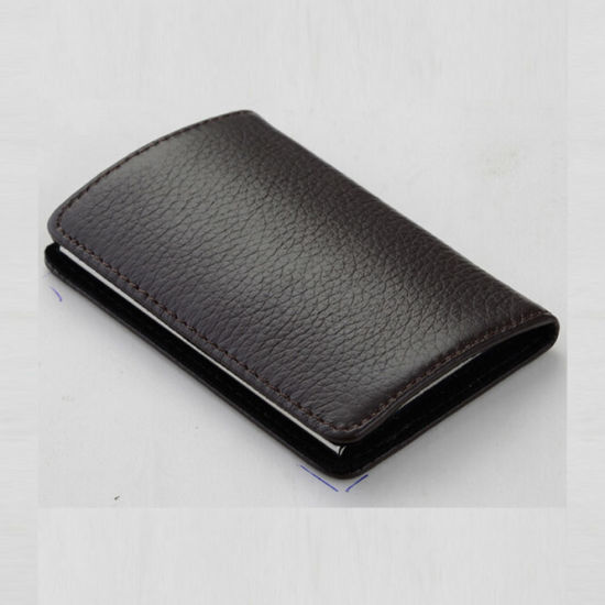 Hot Sale PU Leather Credit Card Holder with Money Clip
