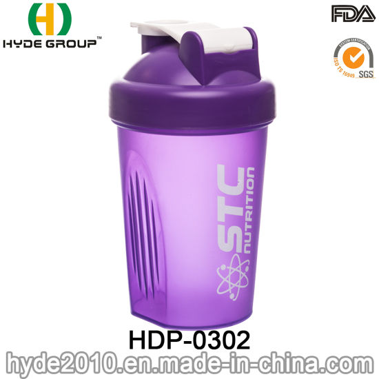 Wholesale 400ml PP Plastic Protein Shaker Bottle (HDP-0302) pictures & photos