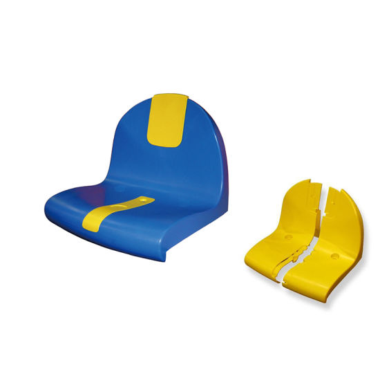 Hot Sale Plastic Bucket Seat with Advertisement Plate From Act Sports