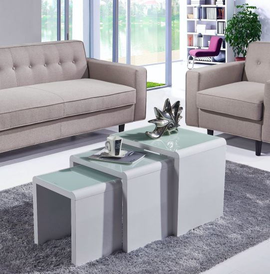 China Modern Living Room Furniture, Coffee End Side Tables ...