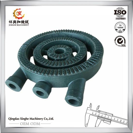 China Customised Oem Iron Casting For Stove Gas Fireplace Burner