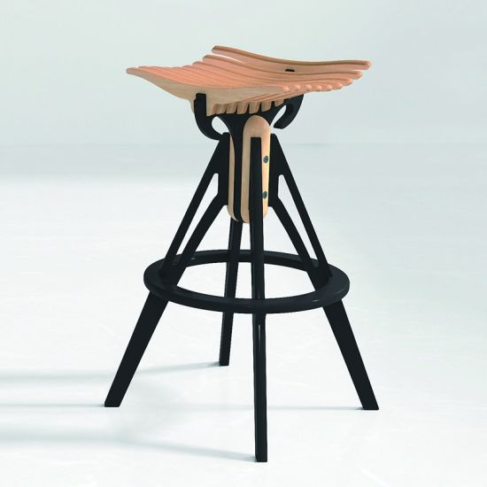 Hot Sale Modern Stool Wooden Bar Chair