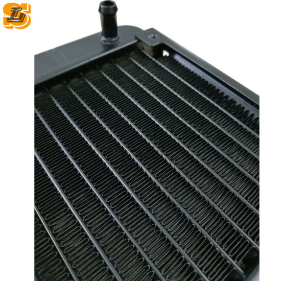 G1//4 240mm Aluminum Computer Radiator Water Cooling For CPU Heat Sink 18 Tubes