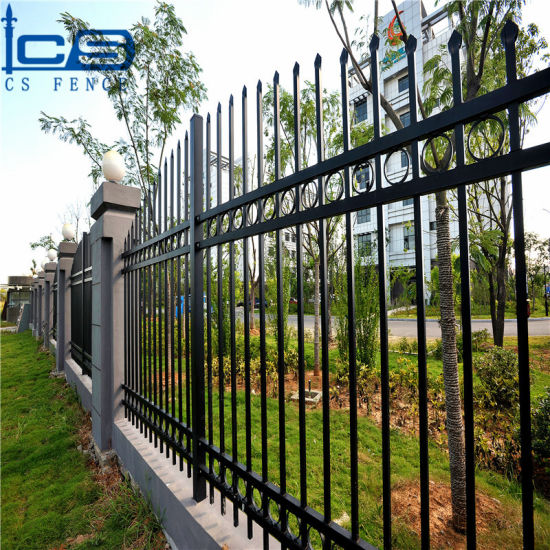 China Factory Direct Sales Wholesale Hot Sale Security Galvanized Steel Fencing