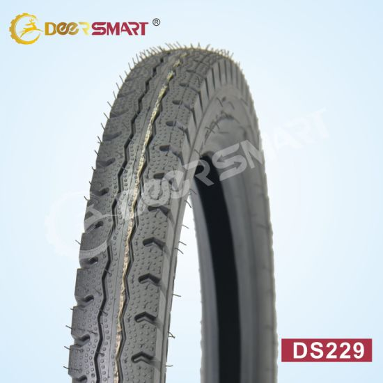 China Top Selling Size 3.00-18 Pattern Ds229 (TT/TL) Motorcycle Tyre