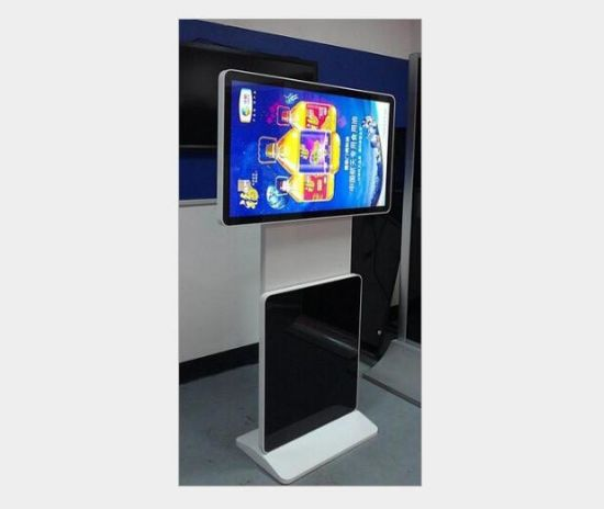 Customized Hot Sale 43 Inch Digital Signage Rotate LG 700nits Android System 1920X1080 FHD Totem Monitor for Shopping Center