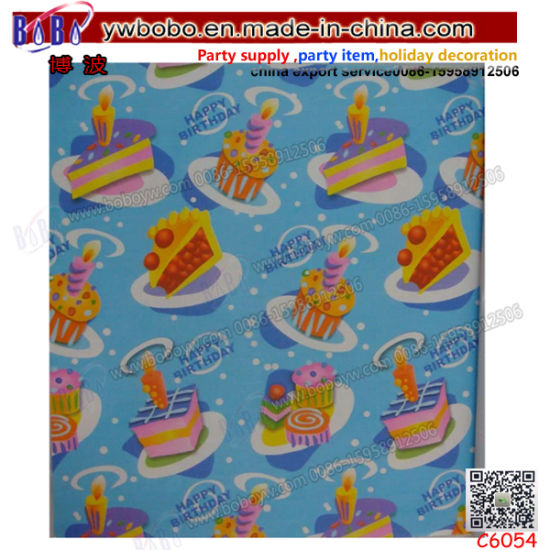 Wholesale Packaging Custom Logo Printed Wrapping Paper Gift Tissue Paper (C6054)