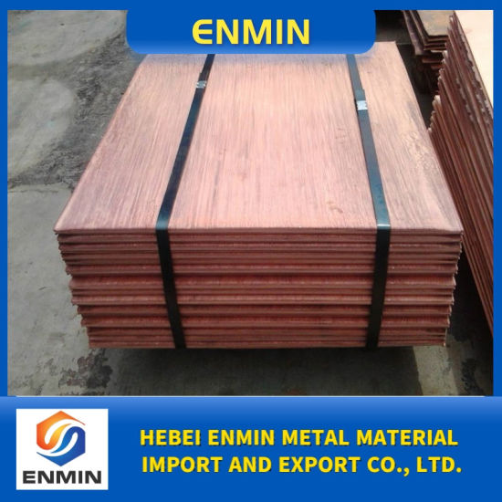 Pure Cathode Copper 99.99% Hot Sale for Export