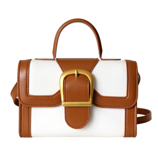 2021 Fashion Retro Mini Square Leather Lady Handbag