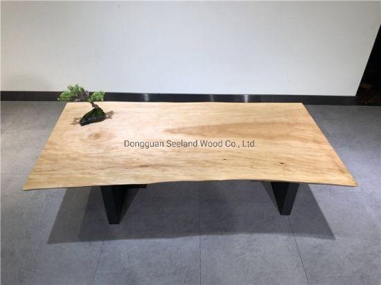 Custom Size Live Edge Walnut Solid Wood