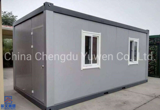 India Low Price 20FT 6 Meters Quick Assembly Container Storeroom