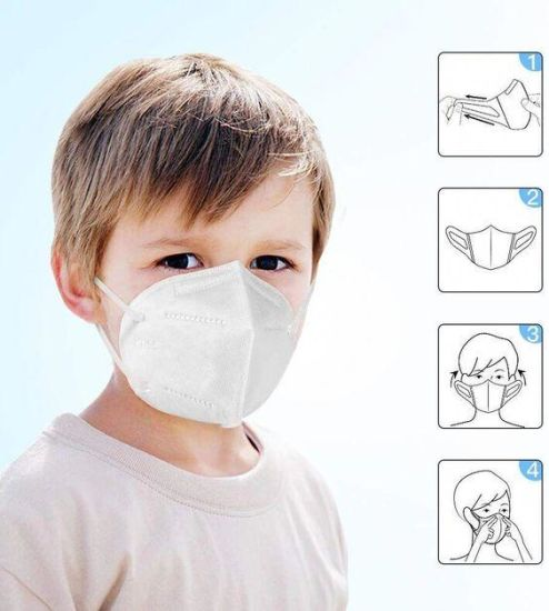 Disposable KN95/FFP2 Kids Mask Covering Mouth and Nose Mask