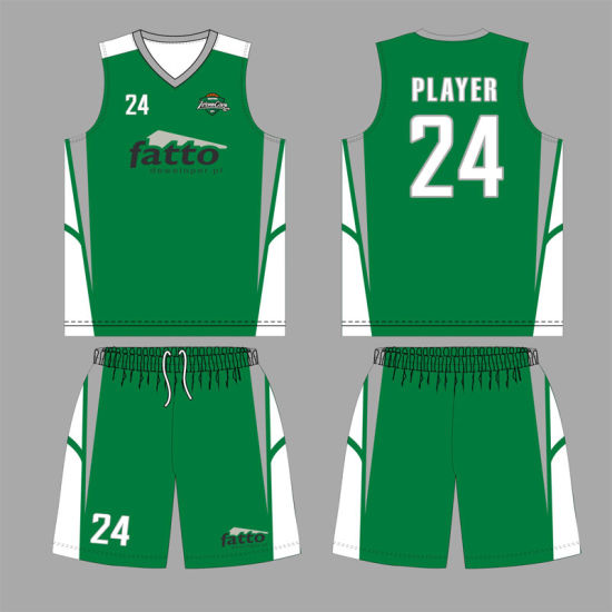 Cool Dry Fabric Basketball Jersey for Sports Club pictures & photos