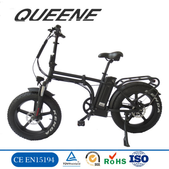 Queene/Hot Wholesales 20inch Folded Electric Bicycle