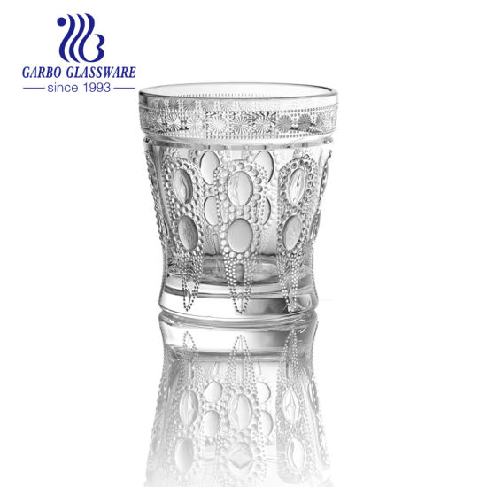 9oz Glass Engraved Cup for Drinking (GB045409ZB-2) pictures & photos