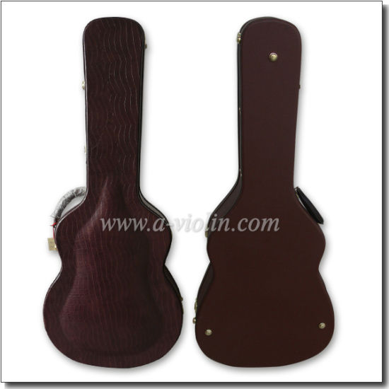 Arch Shaped Wood Acoustic Guitar Case (CWG420) pictures & photos