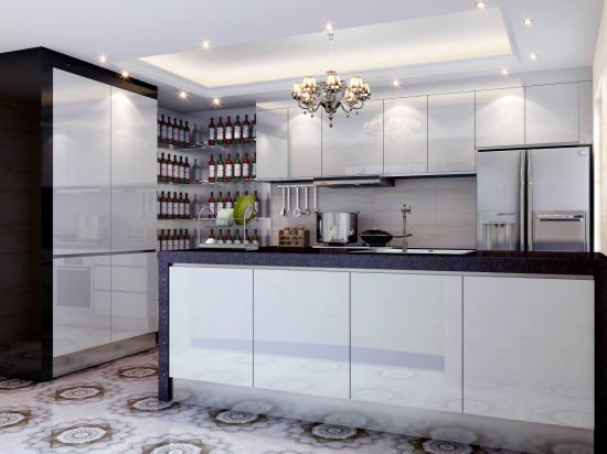 Stainless Steel Kitchen Cabinets For Waterproof Kitchen Furniture (BR SP003)
