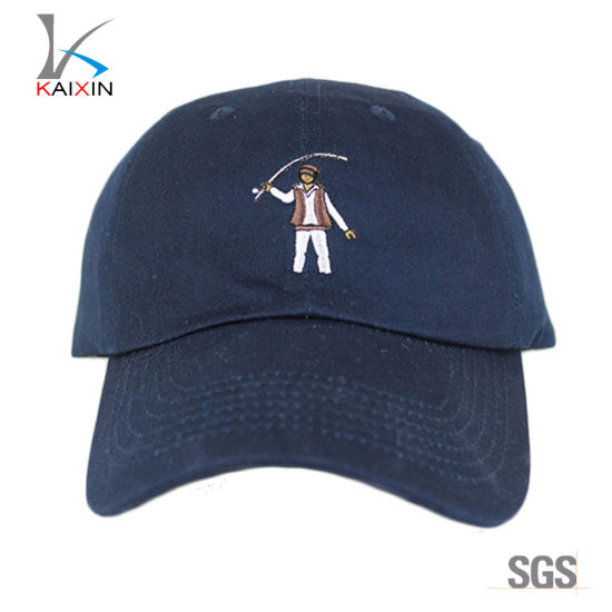 3ad53d7369825 OEM Navy Blue Embroidery Ponytail Baseball Cap From China - China ...