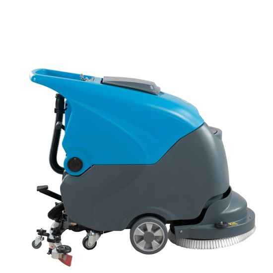Floor Scrubber Cleaning Machine Hand Push Type Automatic Washing Machine -  China Floor Scrubber, Floor Washing Machine | Made-in-China.com