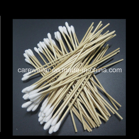 Plastic Cotton Bud / Wooden Stick Swab for Makeup Use pictures & photos