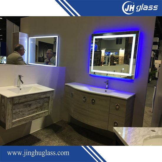 China Hotel Bathroom LED Backlit Mirror with Touch Sensor - China ...