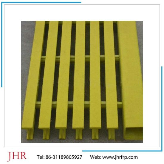 FRP Pultruded Gritted Surface Gratings pictures & photos