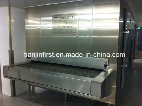 Factory Supply Tunnel Quick Freezing Equipment for Food Dumplings Seafood pictures & photos