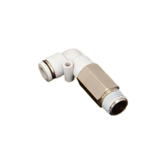 Hydraulic Control Tubing Pneumatic Connector CNC Machining Brass Fitting pictures & photos
