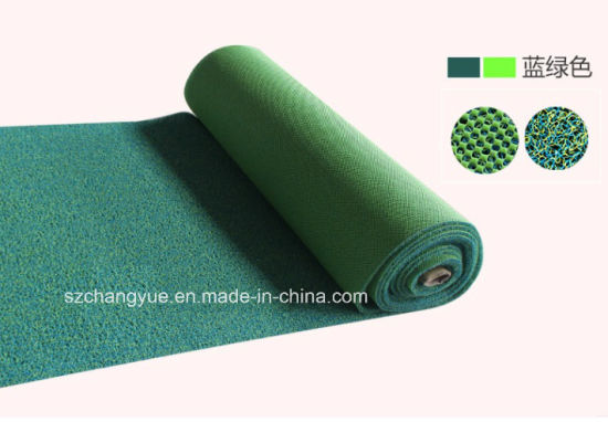 Plastic Foaming Pvc Anti Slip Coil Rug Mat And Roll