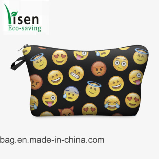 2017 Fashion Design 3D Printing Promotion Cosmetic Bag pictures & photos