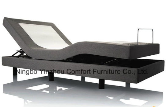 Home Furniture Electric Adjustable Massage Bed with Wireless Control Full Single Twin pictures & photos