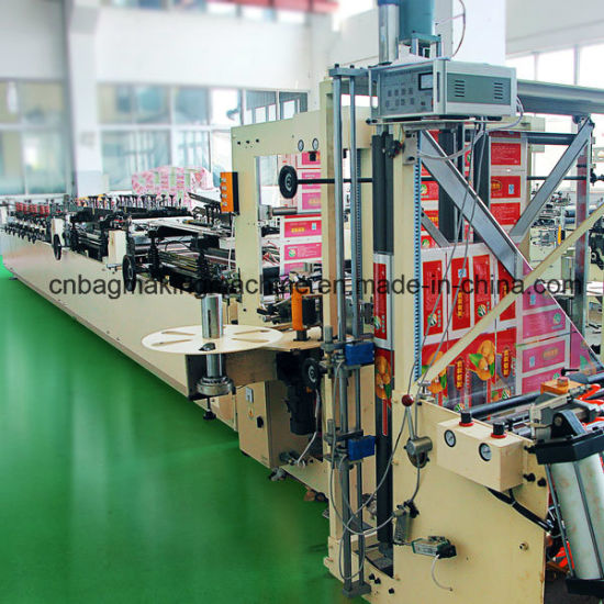 Zd-600zl Automatic Plastic Stand up Zipper Pouch Bag Making Machine pictures & photos