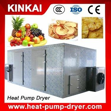 Kinkai Brand Hot Sale Heat Pump Fruit Dryer