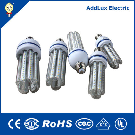 Ce UL Saso U Shape SMD E27 B22 E14 2u 3u 4u CFL LED Made in China for Living, Kithchen, Bed Room, Dining Room Lighting From Best Exporter Manufacturer