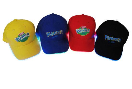 Baseball Caps with LED Lights (0846)