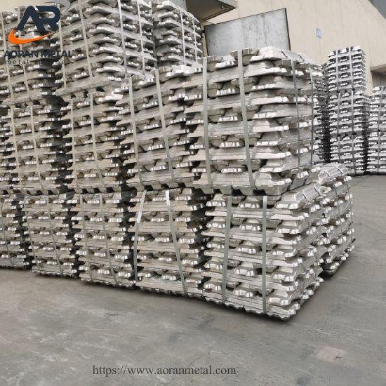 Factory Price Aluminum Ingot A7 Aluminium Ingots