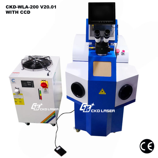 Hot Sale Laser Spot Welding Machine for Jewelry Repairing Electronic Component Repair
